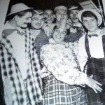 Carnevale a Manfredonia anni '50-Tonino Tomaiuolo -Sciurille- al centro nella foto