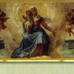 Chiesa Stella Maris-Dipinto della Madonna -Stella del Mare con Bambino- di Natale Penati del 1935