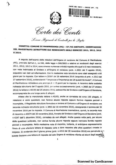 Nota Corte dei Conti pag.1