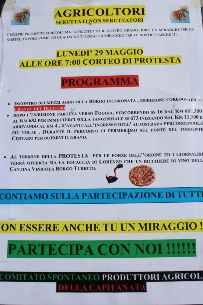 agricoltori corteo di protesta (ph enzo maizzi)