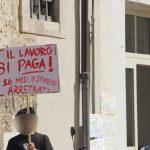 """PASSATO SCIOPERO ALL'ESTERNO DELLA CASA DI RIPOSO """"ANNA RIZZI"""" DI MANFREDONIA"""
