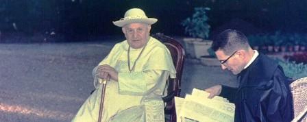 Capovilla e il Papa Giovanni XXIII