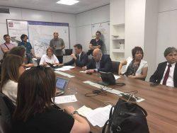 Conferenza stampa nuovo orario Puglia