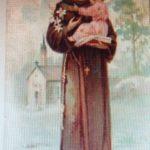 Santino di S.Antonio di Padova di fine '800