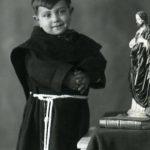 U Munecacille-Bambino con saio da fraticello per una devozione a S.Antonio da Padova