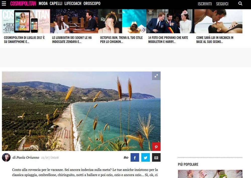 Cosmopolitan: il Gargano, che meraviglia! Isole Tremiti, Vieste, Manfredonia, Mattinata sono solo alcuni dei posti incantati