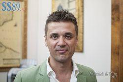 L'ASSESSORE COMUNALE MATTEO OGNISSANTI (PH SAVERIO DE NITTIS)