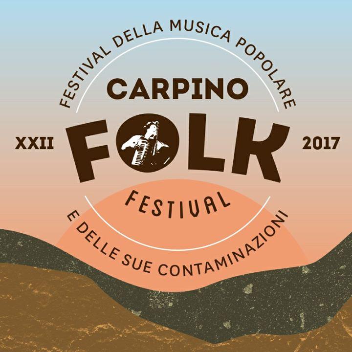 Tutto pronto per il Carpino Folk Festival, presentazione a Bari LOCANDINA CARPINO FOLK FESTIVAL