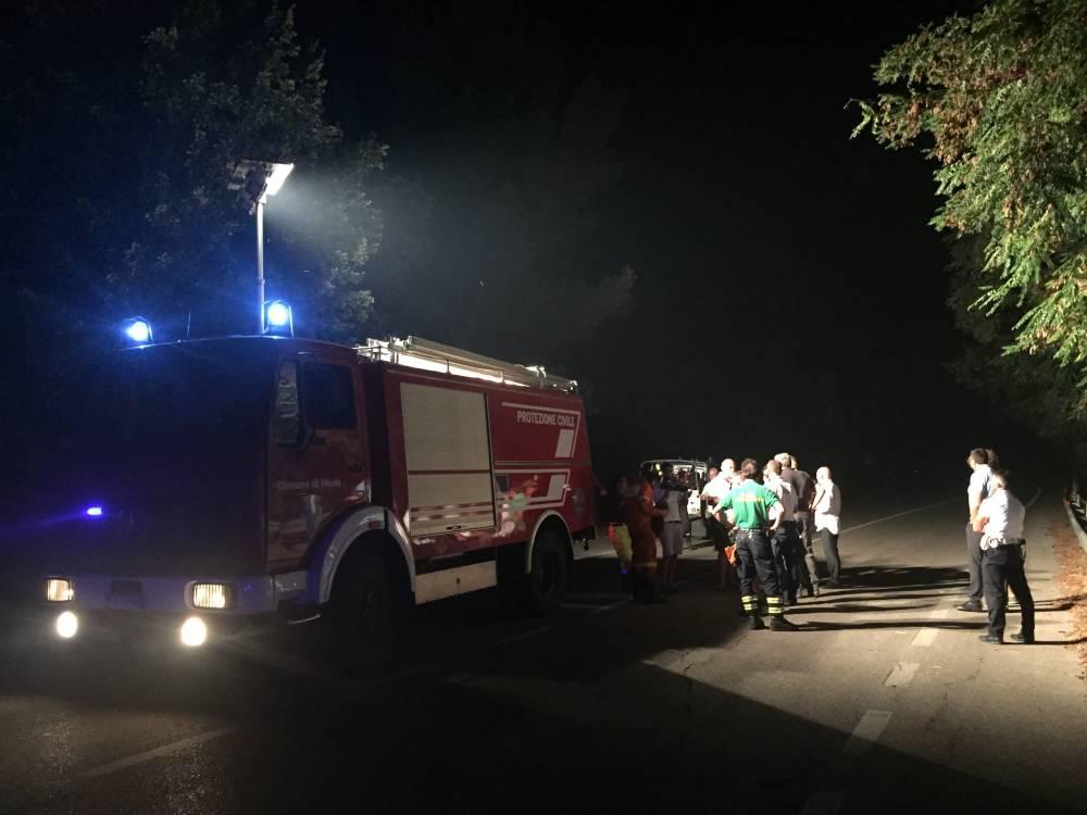 Puglia, finita emergenza incendi L'unico focolaio ancora acceso, che sta impegnando due squadre di vigili del fuoco