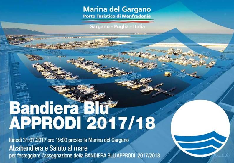 """Manfredonia, cerimonia """"Alzabandiera Blu e Saluto al Mare"""""""