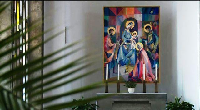 Altare: L'Adorazione dei Magi(1961) Nordendorf (Germany)  - IMMAGINE IN ALLEGATO AL TESTO