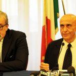 ph enzo maizzi - UNA FASE DELLA RIUNIONE A FOGGIA DEL COMITATO PROVINCIALE DELLA SICUREZZA - 10.08.2017