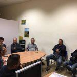 Un momento dell'incontro - Agenzia - Associazioni maestri cartapestai