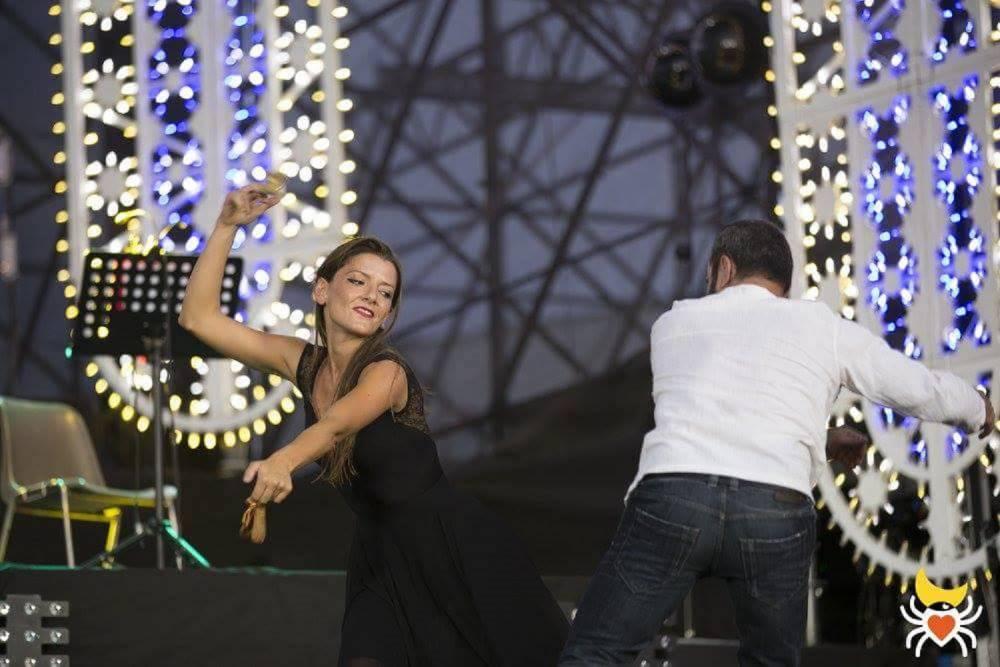 Notte della Taranta, il Gargano c'è Carmela Taronna ballerina Tarantula Garganica Notte della Taranta 2017