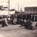 Fine '800-inizi '900- Piroscafi per l'imbarco di emigranti italiani in America