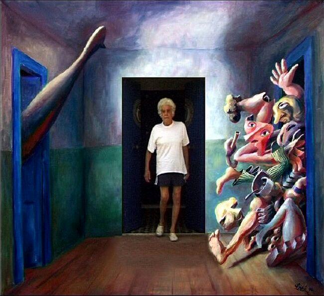 """Il cortometraggio bastato sul sogno di infanzia di Lettl delle """"Le tre porte"""","""