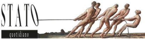 """<strong>I filosofi </strong>(1987) cm. 23,5x54 è un quadro della serie da 26 opere di Wolfgang Lettl, chiamata """"Seria grigo"""" (1985-88) - Su idea, richiesta e gentile concessione di Florian Lettl, che si ringrazia. All rights reserved – © Wolfgang Lettl - www.lettl.de"""