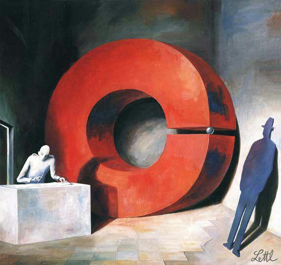 """""""L'ALLUVIONE"""" (1990) - Su idea, richiesta e gentile concessione di <strong>Florian Lettl</strong>, che si ringrazia"""
