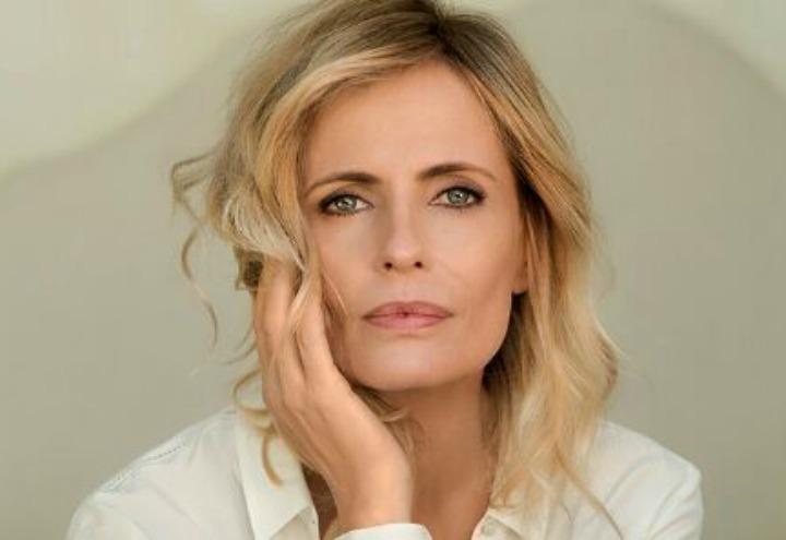 "Isabella Ferrari a Monte Sant'Angelo per ""Talk show"""
