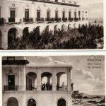 L'albergo-ristorante Daniele costruito agli del '900 sulla piazzetta Mercato