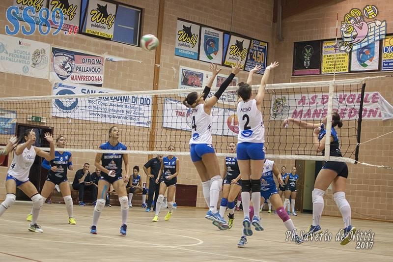 Volley B1, istantanee esordio Volley Manfredonia