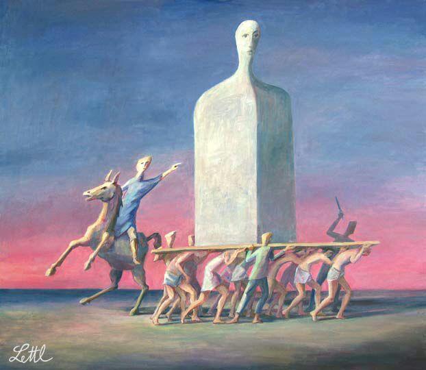 """""""Il comando"""" (2007) cm 136x156"""