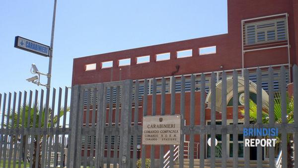 http://2.citynews-brindisireport.stgy.ovh - La sede della compagnia carabinieri di San Vito dei Normanni