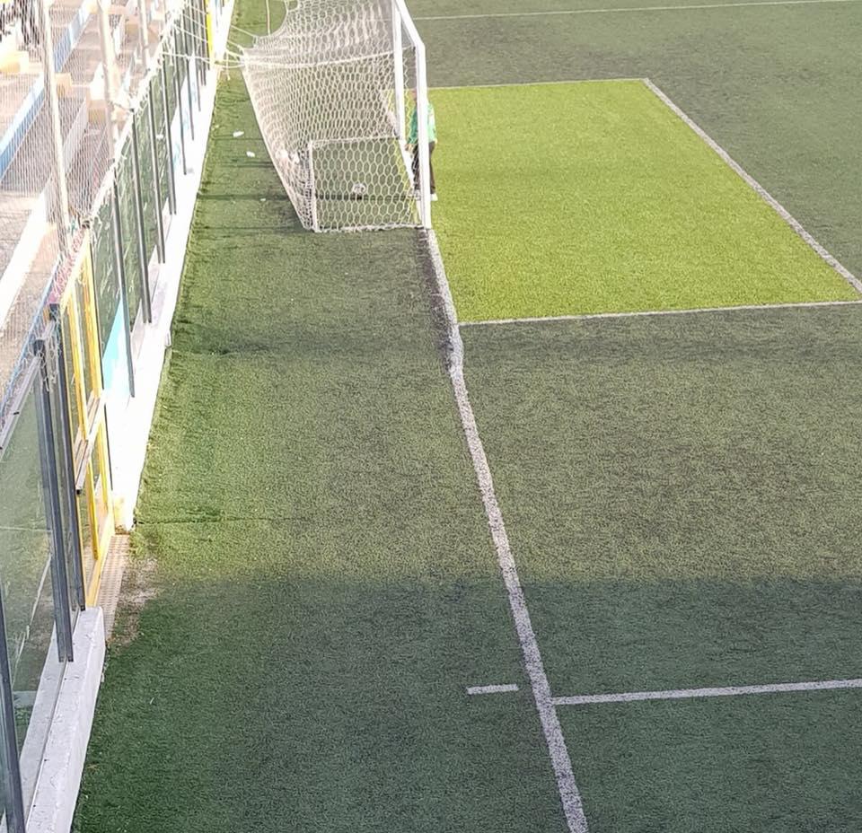 """Calcio, """"tragicommedia"""" al Miramare: linea fondo campo irregolare: match sospeso"""