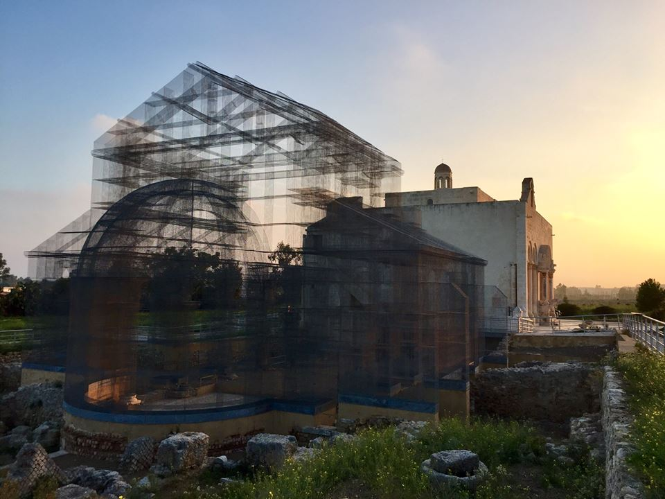 """Linea Blu"" a Manfredonia tra mare, archeologia e arte contemporanea"