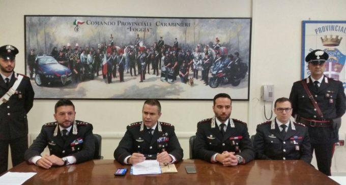 UN MOMENTO DELLA CONFERENZA STAMPA DI STAMANI A FOGGIA (PH ENZO MAIZZI) 17.11.2017