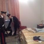 Abitazione in cui è avvenuto l'omicidio, carabinieri stazione S.F.Puglia