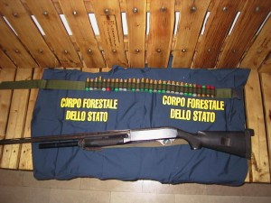 Corpo Forestale Stato, arma ritrovata