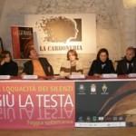 Conferenza stampa 'Giù la testa, la loquacità dei silenzi'