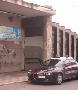 L'ingresso del sottopasso in via Capruzzi, luogo rapina
