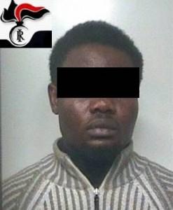 Nigeriano-arrestatodaCc