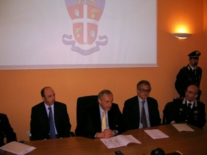 La conferenza stampa a Bari
