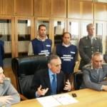 La conferenza stampa in Procura di Foggia (image N.Saracino)