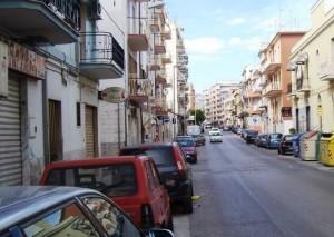Manfredonia, via Beccarini (Luigi Rignanese)