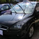 La foto originale dell'auto in seguito 'incidentata' attraverso utilizzo 'Photoshop'