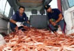 Polfer, furti di rame (immagine d'archivio)