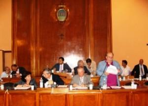 Aula consiliare Comune Foggia (image N.Saracino)