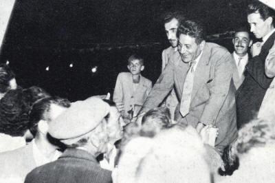 Le attenzioni delle spie dell'Ovra, nell'Italia Democristiana, sul sindacalista Giuseppe Di Vittorio (fonte image: asp.gedinfo.com)
