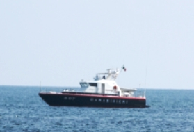 Carabinieri motovedetta