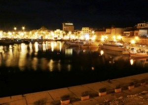 Alghero, notte