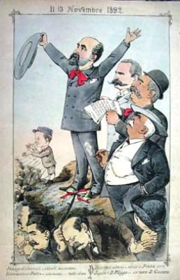 caricatura Manganaro