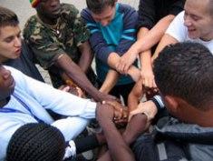 70 i giovani impegnati a Borgo Mezzanone per la vacanza estiva della Caritas Mf
