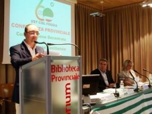 Conferenza Cisl, L.Sbarra