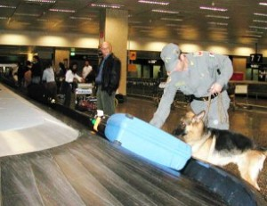 Controlli aeroporti Guardia Finanza