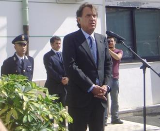 Il capo della Polizia A.Manganelli a Manfredonia