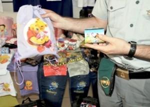 Operazione Guardia Finanza anti-contraffazione